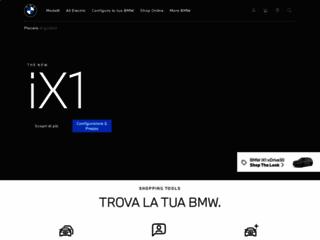 BMW Italia: La pagina web ufficiale di BMW Italia