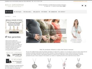 Capture du site http://www.bola-grossesse.com