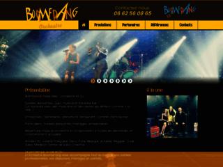Site officiel de Boomerang Orchestre .com