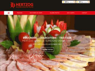 Boucherie Charcuterie Traiteur Hertzog à Hésingue dans le Haut-Rhin