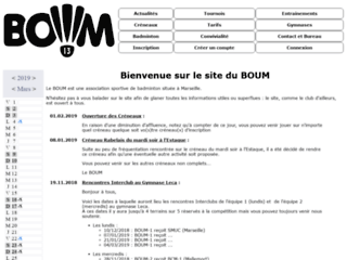Image Badminton olympique universitaire de Marseille