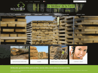 Capture du site http://www.bourdiersas.com/