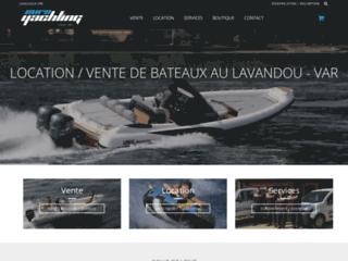 Capture du site http://boutique.euroyachting.fr