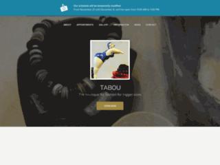 Tabou, la boutique des rondes branchées