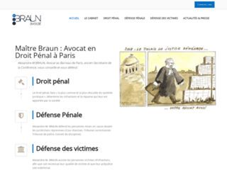 Cabinet Alexandre-M. BRAUN : Avocat en Droit Pénal à Paris 17