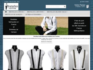 Capture du site http://www.bretelles-homme.fr/
