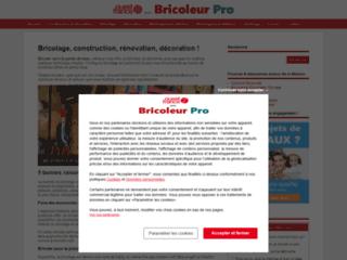 Aperçu du site Bricoleur Pro