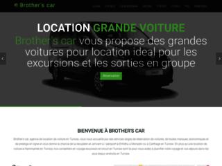 Capture du site http://www.brothers-car.com