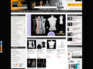 Vente en ligne de mannequin de vitrine