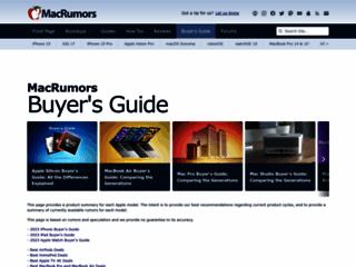 Info: Scheda e opinioni degli utenti : Mac Buyer's Guide: Ti dice quando conviene comprare il tuo Mac, iPod o iPhone