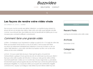 Video buzz sur Youtube