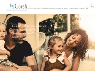 Capture du site http://www.bycorefi.com