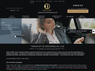 CAB-Luxury : location de voiture de luxe avec chauffeur à Cannes et à Paris