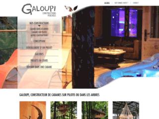 galoupi cabane constructeur de cabanes perch es en bois. Black Bedroom Furniture Sets. Home Design Ideas
