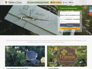 Cabanes de france : toutes les cabanes où dormir dans les arbres en Fr