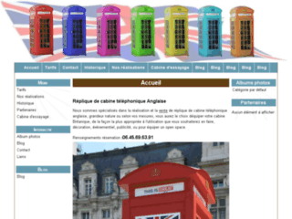 Fabriquant de r pliques de cabines t l phonique anglaise - Cabine telephonique anglaise a vendre ...