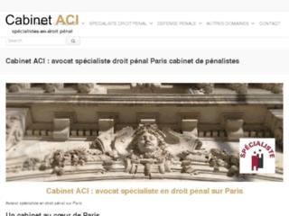 Avocat droit penal Paris