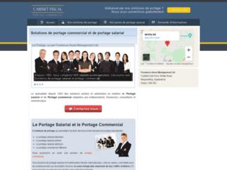 Capture du site http://www.cabinetfiscal.com/