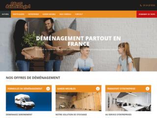 Capture du site http://www.cademenage.fr