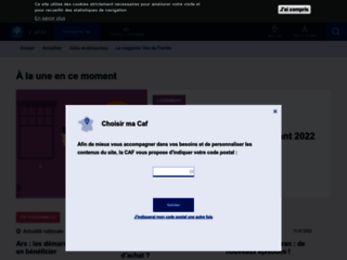 Bienvenue sur Caf.fr | caf.fr