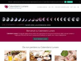 Info: Scheda e opinioni degli utenti : Calendario Lunare il sito ufficiale | Calendario-lunare.it
