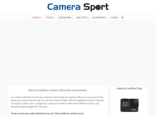 Détails : comparatif camera sport