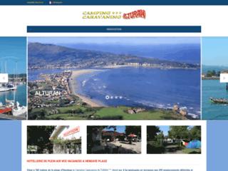 Camping Alturan - Hendaye : pays basque - côte basque