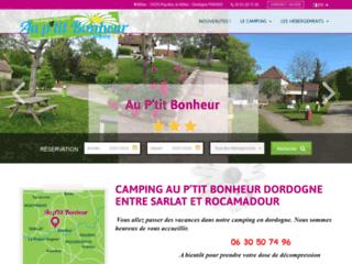 Détails : Au P'tit Bonheur camping en Dordogne