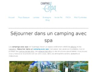 Les meilleurs campings avec spa