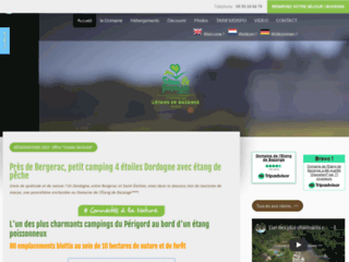 Camping calme et nature en Dordogne