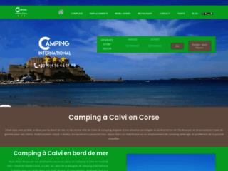 Camping Corse, L'international à Calvi