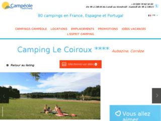 Camping*** Le Coiroux