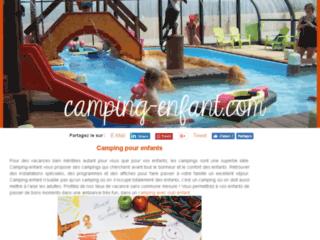 Camping club enfant