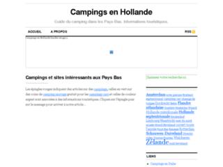 Campings en Hollande