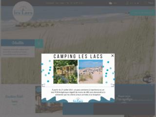 Découvrez le camping les lacs