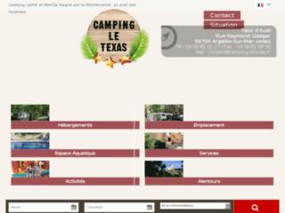 Camping Le Texas, le meilleur camping à Argelès-sur-Mer