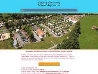 Camping Mendi Azpian - Urrugne au Pays Basque