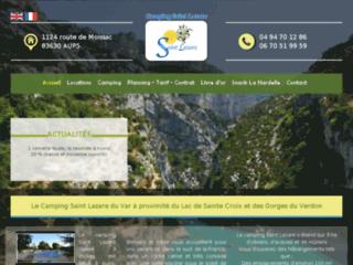 Camping lac sainte croix, Location Mobile Home Gorges du Vendon, Camping Saint Lazare Var