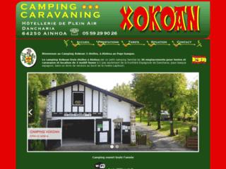 Camping Xokoan, à Aïnhoa au Pays basque