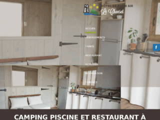 Location de chalets et mobil home Puy de dome (63) : Camping Le Chanset
