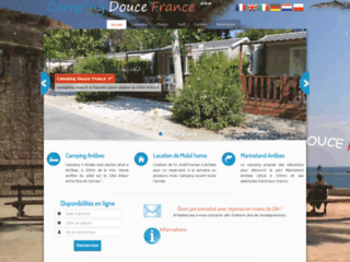Camping douce France situé à Antibes