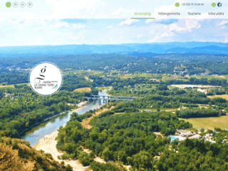 Camping la Grand'Terre en Ardèche