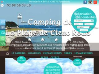 Camping de la plage de Cleut