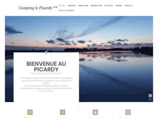 Camping-hotel de plein air en Picardie en baie de somme dans le département du 80