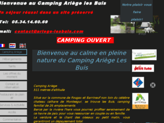camping les buis. Week-end en yourte en Ariège