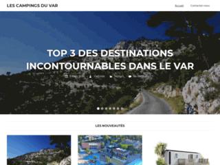 Détails : Camping du Var