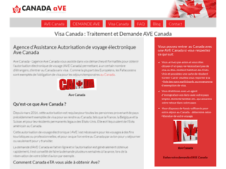 Autorisation de voyage Electronique Canada