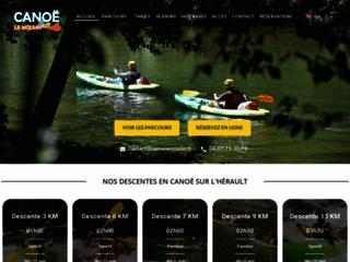 Détails : Découvrez notre base de location de canoës et kayaks à l'Hérault