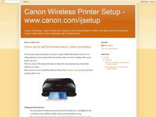 Canon Pixma Printer Setup, Driver Download & Update Support For Mac, Windows