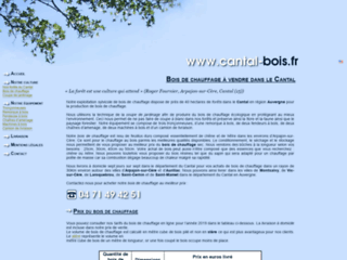 Capture du site http://www.cantal-bois.fr/